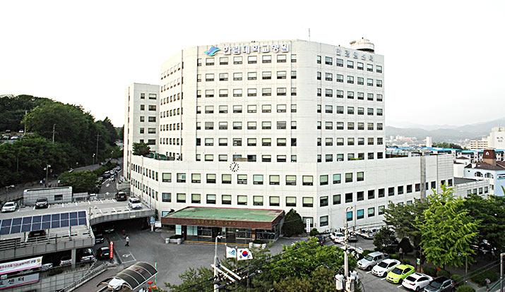 춘천성심병원 병원전경사진